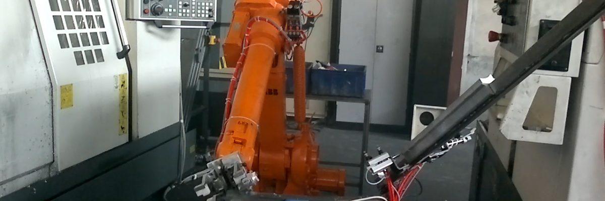 ربات صنعتی ABB - CNC