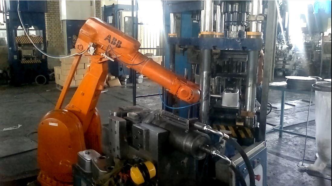 پروژه ربات صنعتی ABB - ربات جوشکار