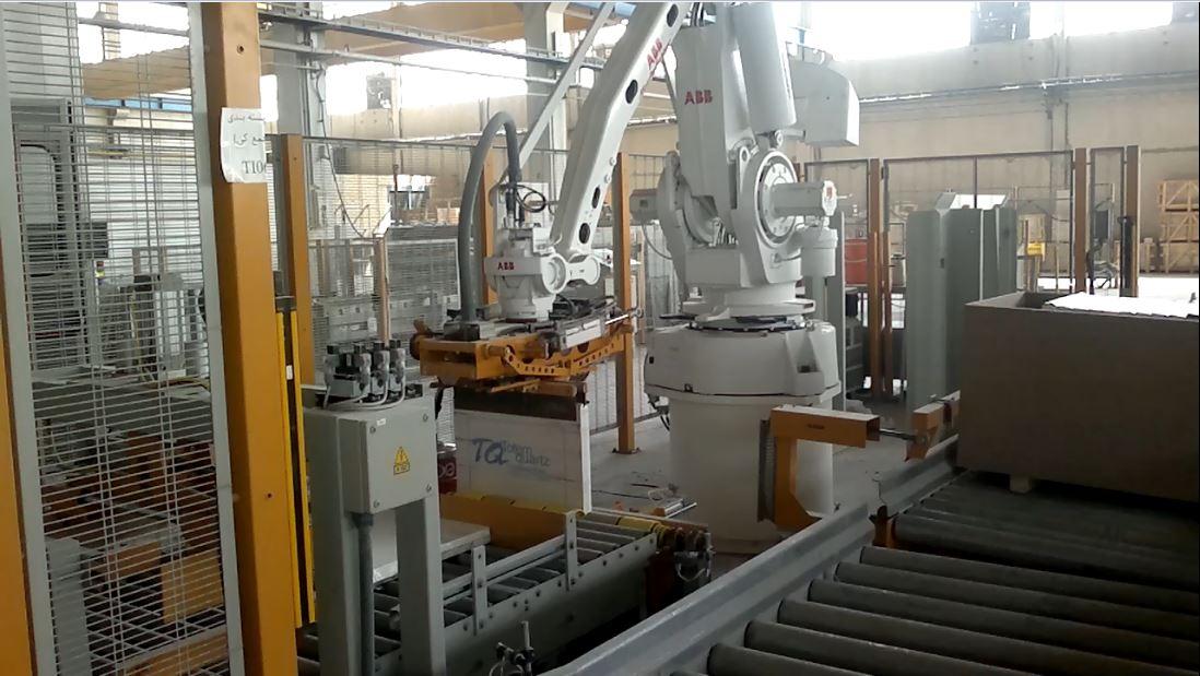 پروژه ربات صنعتی ABB - سنباده _ پولیش