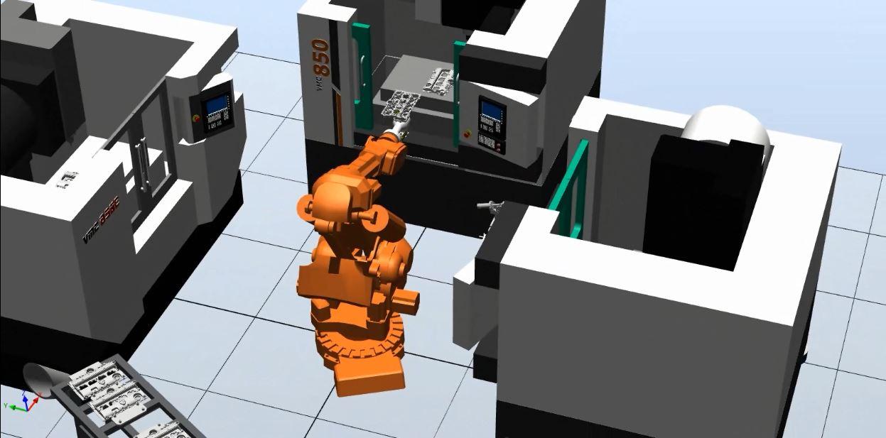 پروژه ربات صنعتی ABB - خودروسازی